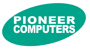 Pioneer Computers Logo and Link